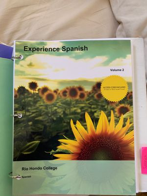 Experienced Spanish volume 2 for Sale in Whittier, CA
