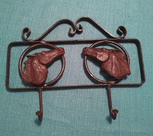Iron horse key holder/hooks for Sale in Fort Worth, TX