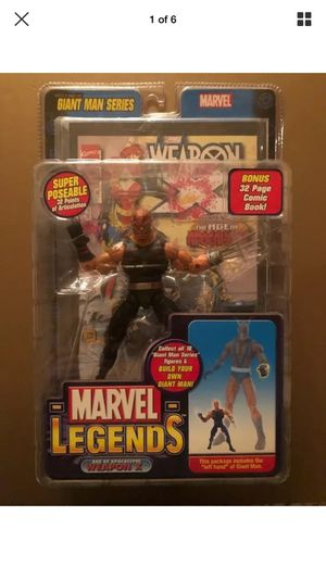 "2006 Marvel Legends Giant Man Series Weapon X 6"" Action Figure for Sale in Laguna Beach, CA"