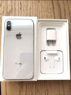 iPhone X - 64GB, Factory Unlocked for AT&T, T-Mobile, Metro PCS, Sprint, Cricket, Lyca, Ultra, International + warranty for Sale in Silver Spring, MD