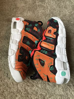 """Nike Air More Uptempo GS """"What The 90's Pack"""" for Sale in Lugoff, SC"""