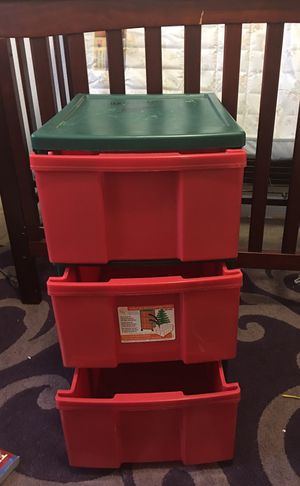 Plastic Storage containers$11 for Sale in Fort Worth, TX