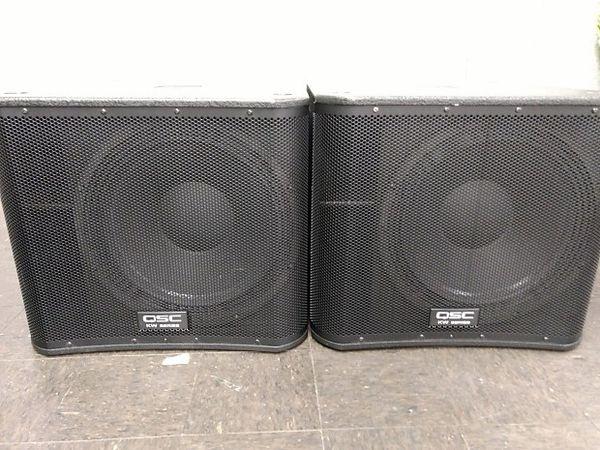 Qsc kw 181 pair