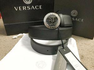 Sliver Medusa black belt for Sale in Milpitas, CA