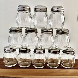 12 Vintage Clear Salt Shaker Cups for Sale in Southwest Ranches, FL