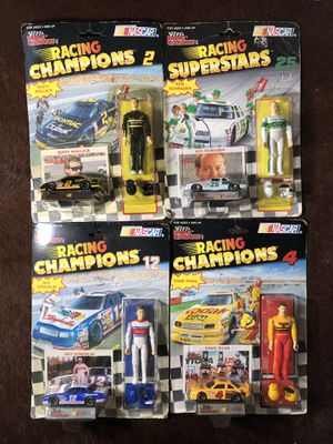 Vintage 1992 NASCAR Racing Superstars action figure collectibles for Sale in Longwood, FL