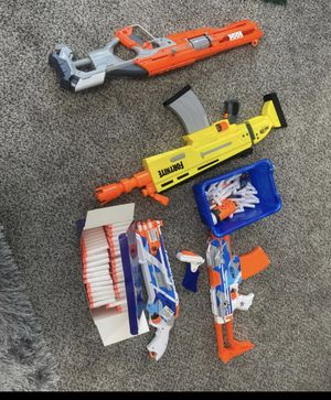 Nerf Guns with bullets for Sale in Riverside, CA