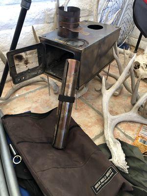 3w ultralight backpacking folding titanium wood stove for Sale in Mesa, AZ
