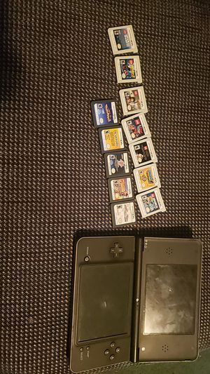 """Nintendo ds with 11 games """"3ds games and D's games"""" with case for Sale in Pembroke, MA"""