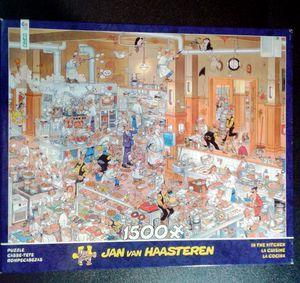 """Jan Van Haasteren 1500 puzzle """"In The Kitchen"""" for Sale in Sun City, AZ"""