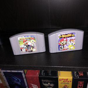 N64 games 100% authentic Mario kart and super smash bro Nintendo n64 for Sale in Miami, FL