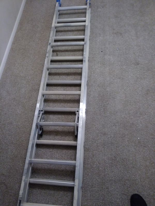 16ft werner aluminum exstention ladder