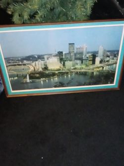 90s Pittsburgh Picture for Sale in Pittsburgh,  PA