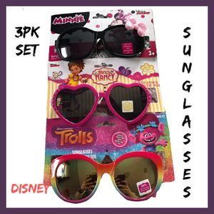 NWT Girls Disney 3Pk Sunglass Set for Sale in West Des Moines, IA
