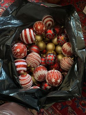 Large assortment of Christmas ornaments . for Sale in Alexandria, VA