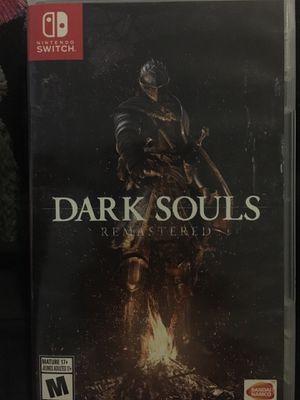Dark Souls remastered Nintendo switch for Sale in Atlanta, GA