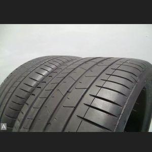 Pair 315 35 22 Pirelli Pzero RSC Run Flat with 80% Tread 7/32 111Y #7239 for Sale in Miami, FL