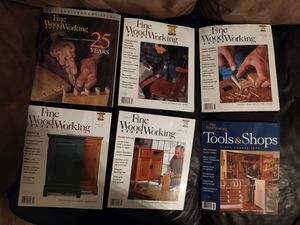 Fine Woodworking Magazine 20 issues w/ full year for 2002, 2003 for Sale in South Attleboro, MA