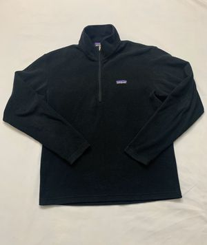Vintage Retro 90's Patagonia Synchilla Black Fleece Jacket Men's Size Medium for Sale in Laurel, MD