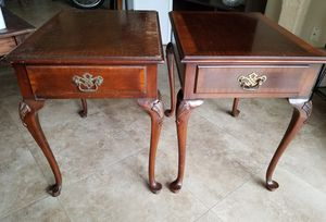 French Vintage End tables (great for restoration) for Sale in Cutler Bay, FL