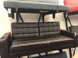 Coaster brown futon for Sale in Houston, TX
