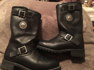 Harley Davidson Motorcycle Boots for Sale in Austin, TX