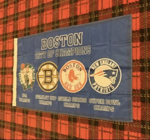 Brand new Boston City of Champions banner flag for Sale in Celina, OH