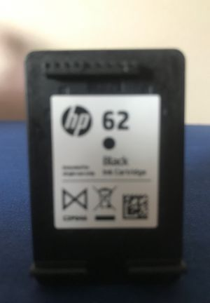 Hp 62 Black Ink Cartridge for Sale in Stow, OH