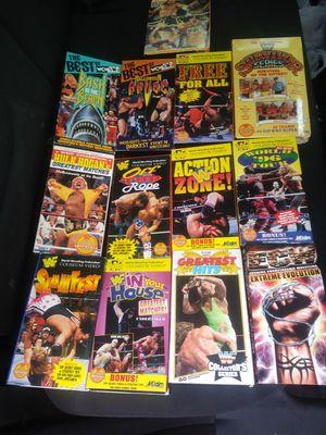 Vintage Wrestling VHS for Sale in Sophia, NC