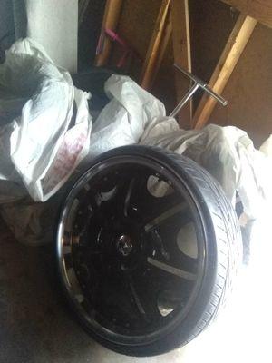 22'Rims& Tires $700 obo for Sale in Las Vegas, NV