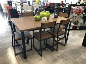 7 Piece Adler Dining Table Set for Sale in Hialeah, FL