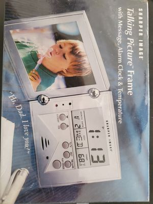 Sharper image talking picture frame for Sale in San Antonio, TX