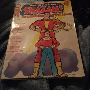 1973 Shazam Comic Book Limited Collectors Edition for Sale in Woodstock, GA