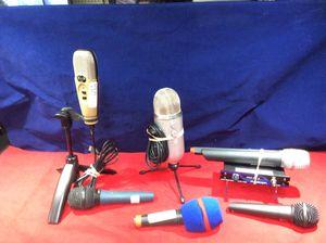 Mics headphones and audio equipment for Sale in Marietta, GA
