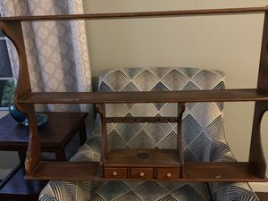 Shelf with 3 small drawers for Sale in Fontana, CA