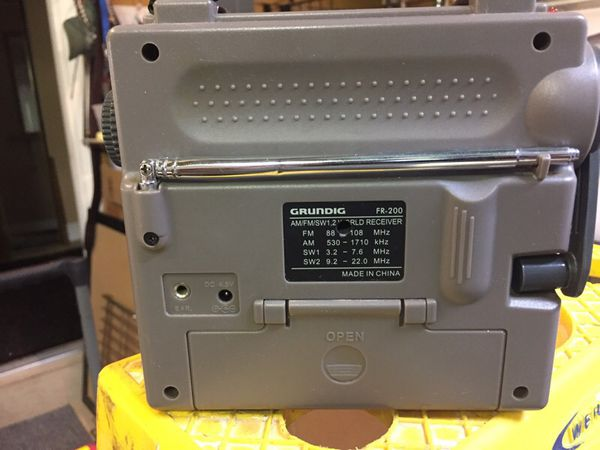 Grinding FR-200 Emergency Radio Like New for Sale in Cape Coral, FL -  OfferUp