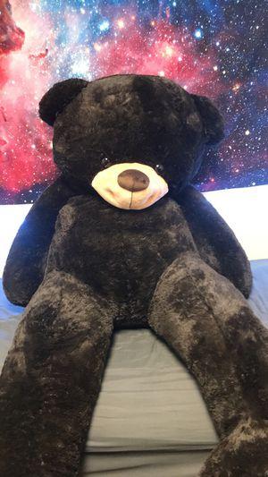 7' Brown Fluffy Teddy Bear for Sale in Newport News, VA