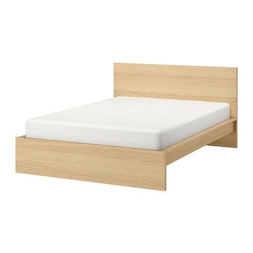 FREE - IKEA full size malm bed frame (wood frame only)