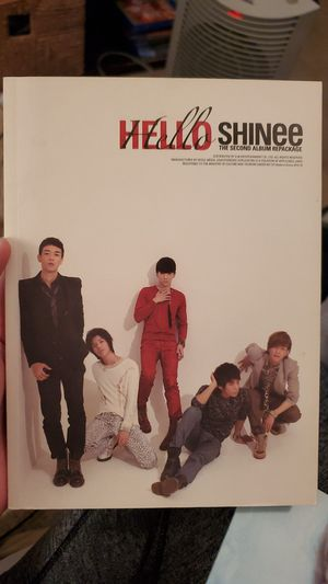 SHINee hello collectable kpop CD great condition for Sale in Montclair, CA