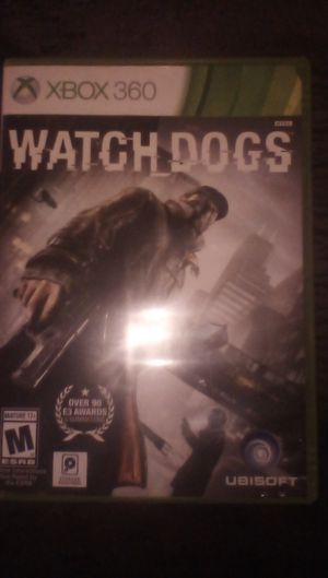 Watch Dogs for XBOX 360 for Sale in Fresno, CA