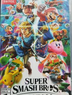 Super Smash Bros Ultimate New UNOPENED Firm On Price for Sale in Cypress,  TX