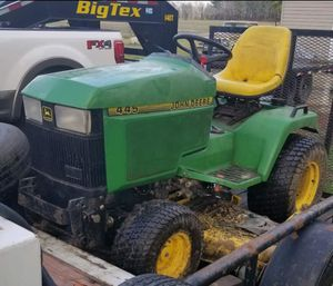 John Deere 445 not made by M T D , by John Deere for Sale in Cullen, VA