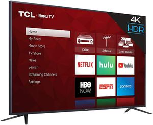 75 inch TCL 4K Smart Roku TV (2019) for Sale in Los Angeles, CA