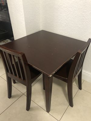 Kids wooden table set for Sale in Miami, FL