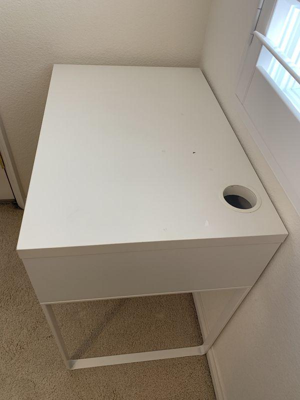 Micke White IKEA Desk