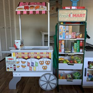 Melissa And Doug Market And Ice Cream Stand for Sale in St. Petersburg, FL