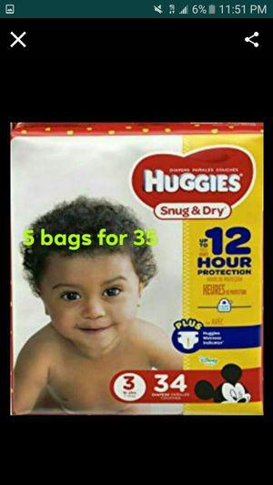 Huggies size3 for Sale in Denver, CO