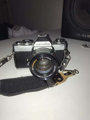 Minolta XD-5, 50mm Lens, f:1.4 for Sale in Lake Forest, CA