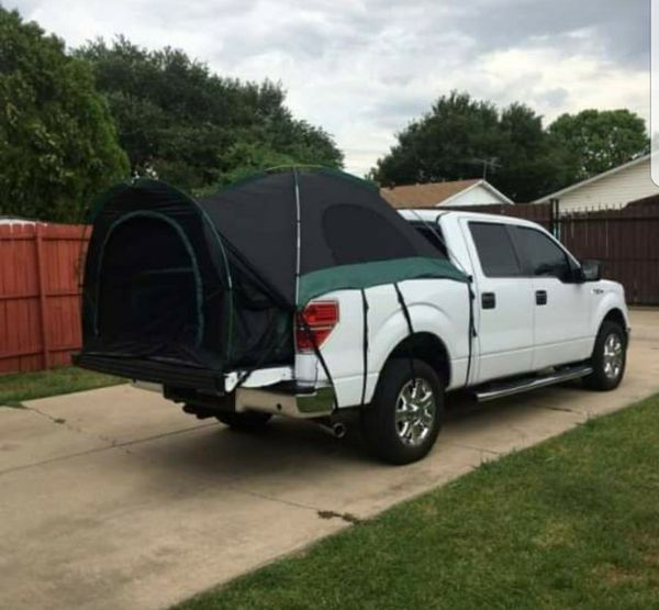 NEW IN BOX Full Size Truck Bed Tent Camper Shelter Camping Pickup w/ Rainfly Tailgate