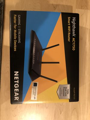 Netgear smart WiFi router ac1750 for Sale in Saratoga, CA